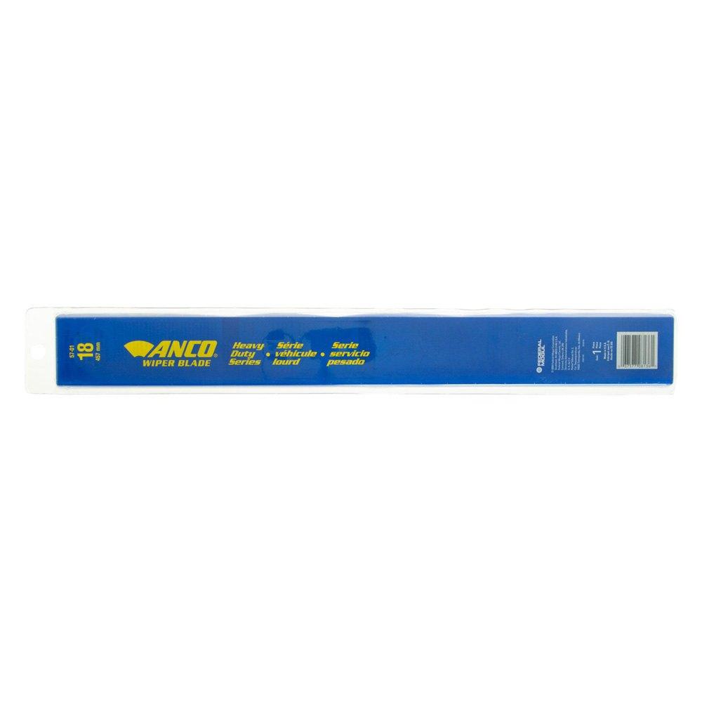 Anco Wiper Blades >> Anco 57 01 Heavy Duty Curved 18 Gray Wiper Blade