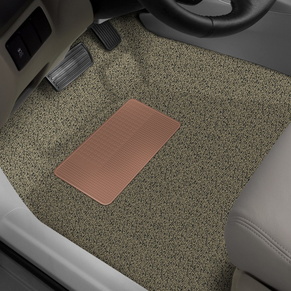 Auto Custom Carpets® - Standard Replacement Molded Beige Complete Carpet Kit without Mass Backing