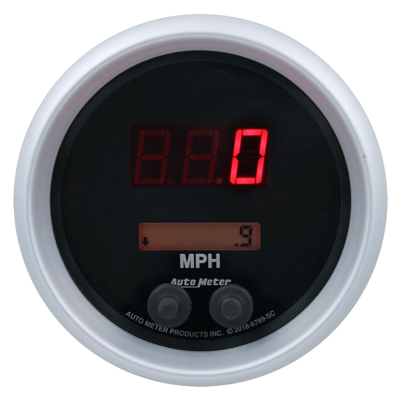 Auto Meter U00ae 6789-sc  8 U0026quot  Speedometer Gauge  0  0