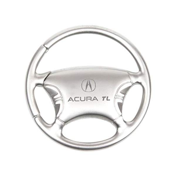 TL Chrome Steering Wheel Key Chain