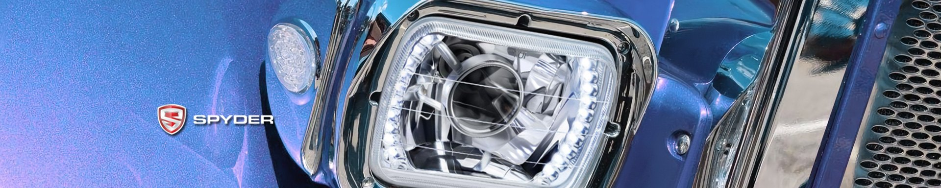 Spyder™   Semi Truck Headlights, Off-Road Lights, Emergency