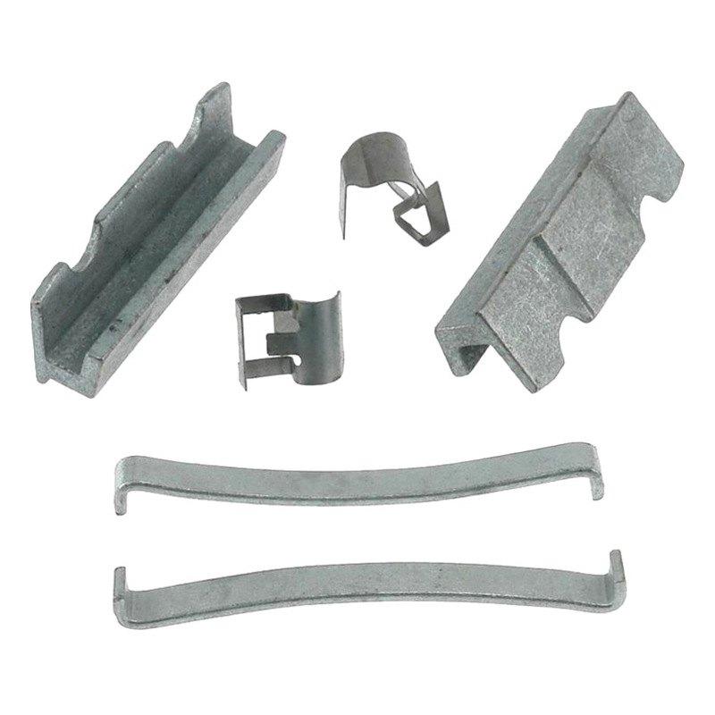Disc Brake Hardware Kit Front,Rear Carlson H5529