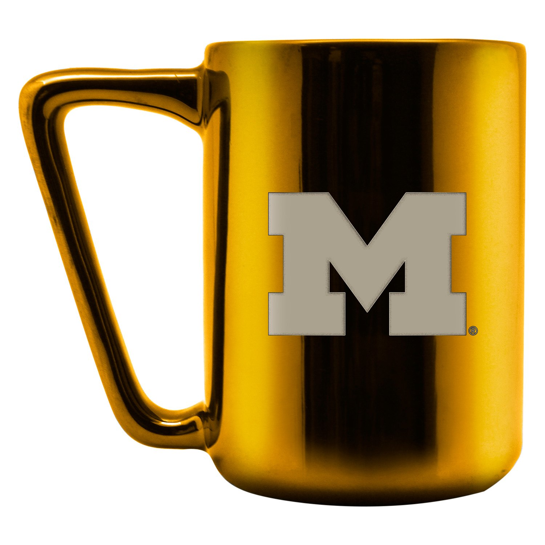 Duck House 174 Lce411 University Of Michigan 16 Oz Ceramic