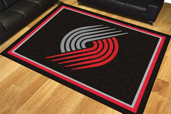 Fanmats 174 17466 Portland Trail Blazers On 8x10 Area Rug