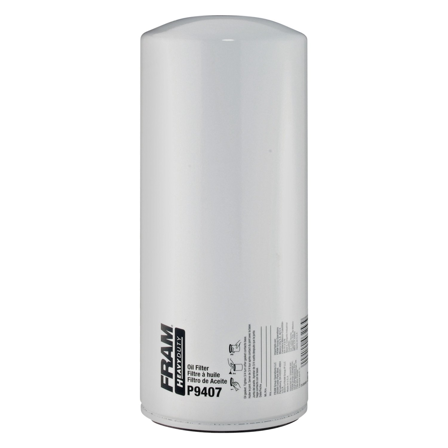 Fram P9407 Heavy Duty Oil Filter Performance Fuel
