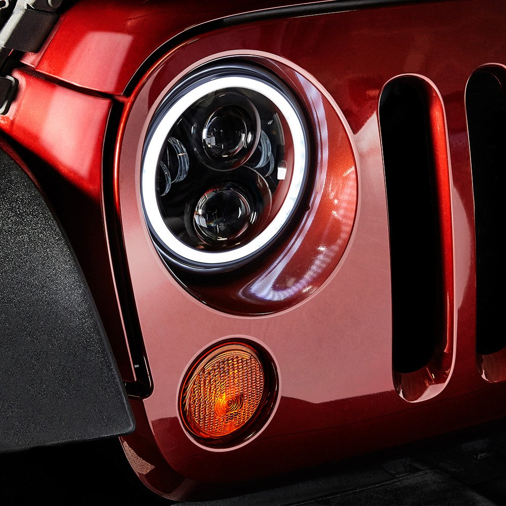 Halo Light Wiring Diagram On Jeep on