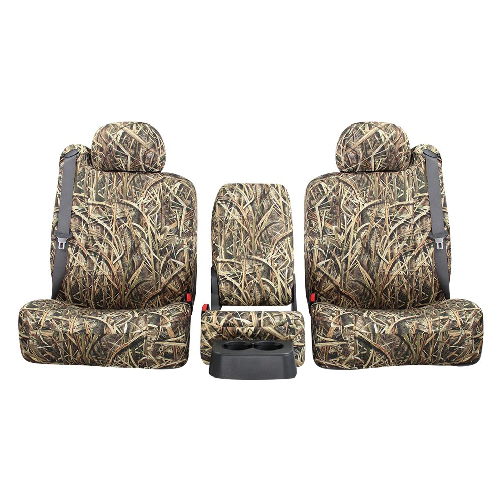 060230f57ceca Northwest Seat Covers® - Mossy Oak™ 2nd Row Camo Blades Custom Seat Cover