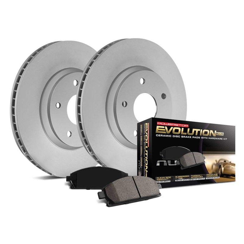 Power Stop CRK7301 rear Z17 Evolution Geomet Coated Brake Kit