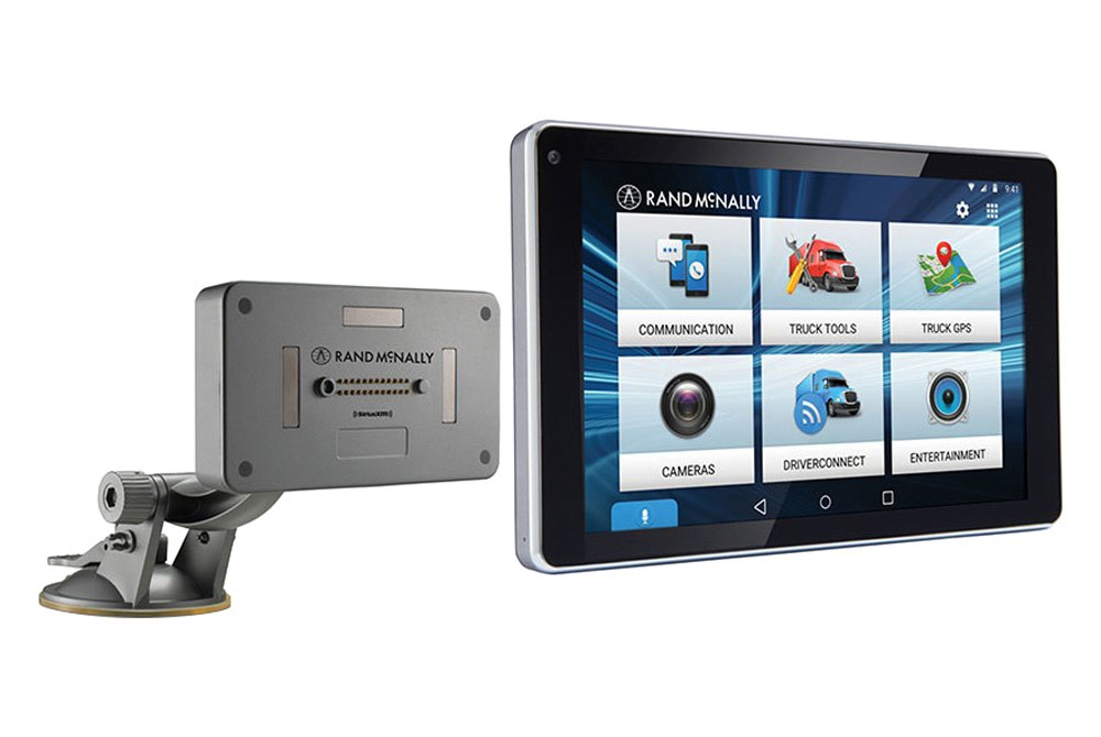 Rand Mcnally Gps >> Rand Mcnally 7pro Overdryve 7 Pro 7 0 Gps Navigator With Rear View Camera Connectivity Built In Dash Cam And Dashboard Mount