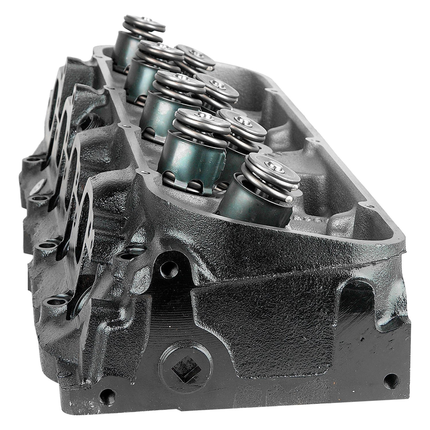 Replace® 2CF3 - Passenger Side Remanufactured Iron Cylinder Head Assembled  with Valves & Springs