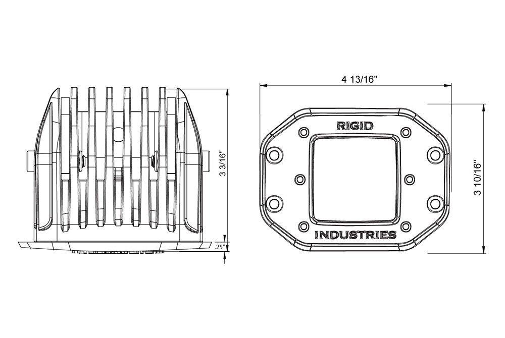 rigid industries u00ae 711313
