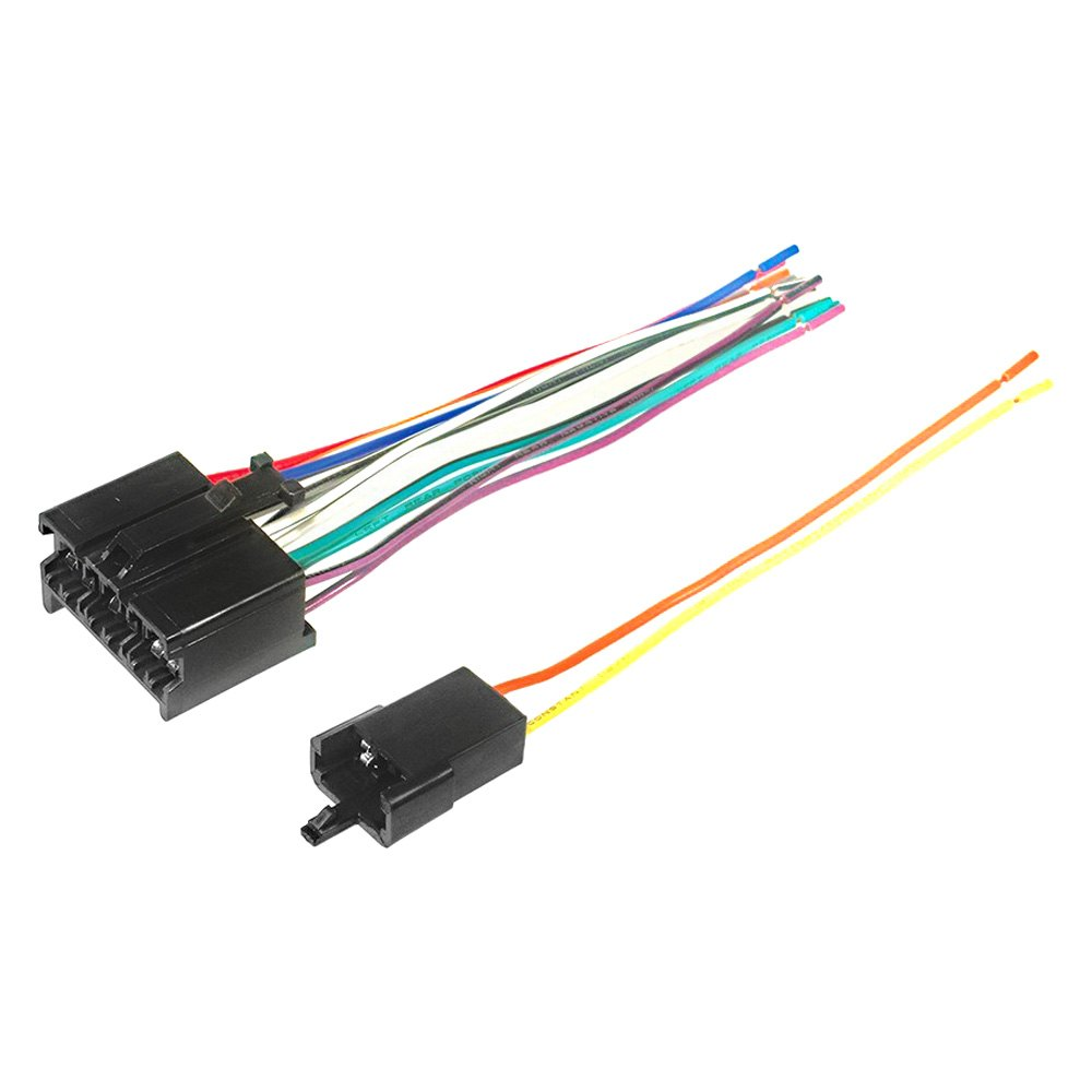 Scosche® - Wiring Harness, Plugs Into OEM Radio on