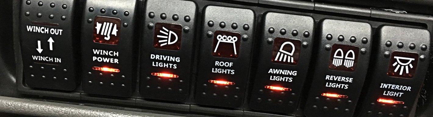 Semi Truck Light Switches