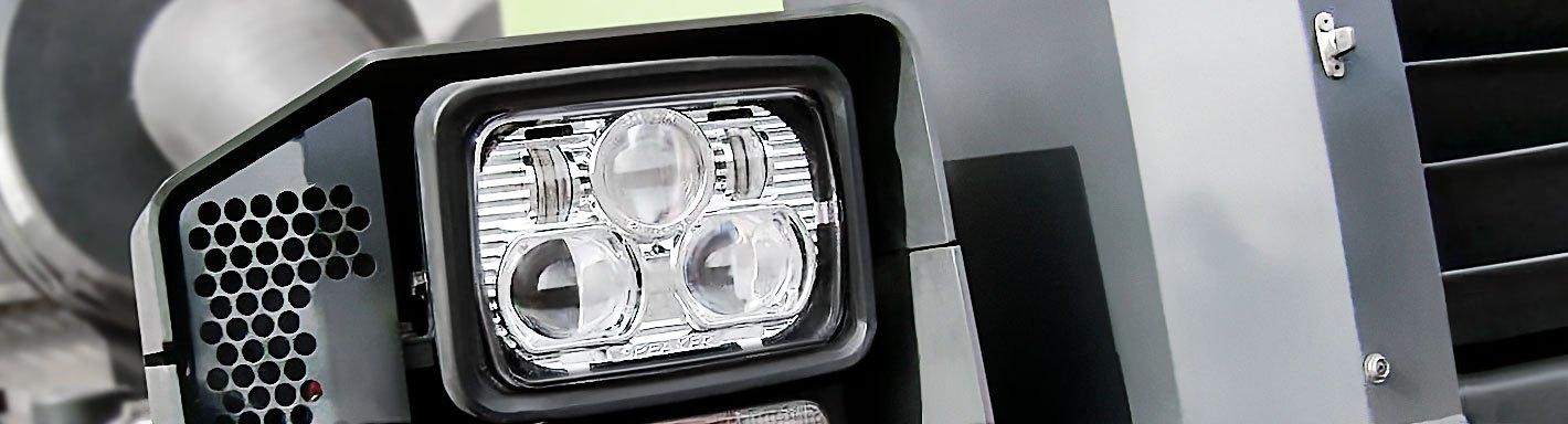 Peterbilt 377 Projector Headlights