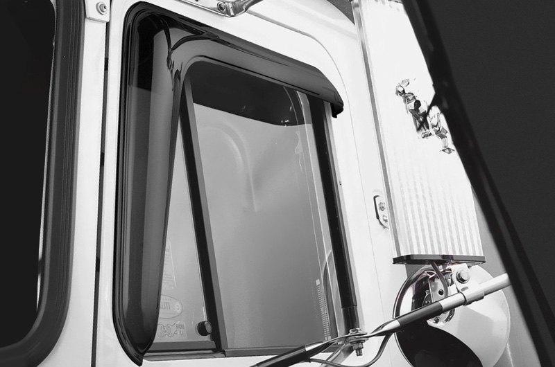 Semi Truck Wind Deflectors | Rain Guards | Window Visors