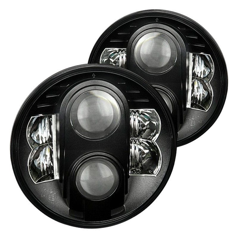 Spyder® - Round Sealed Beam Custom Headlights