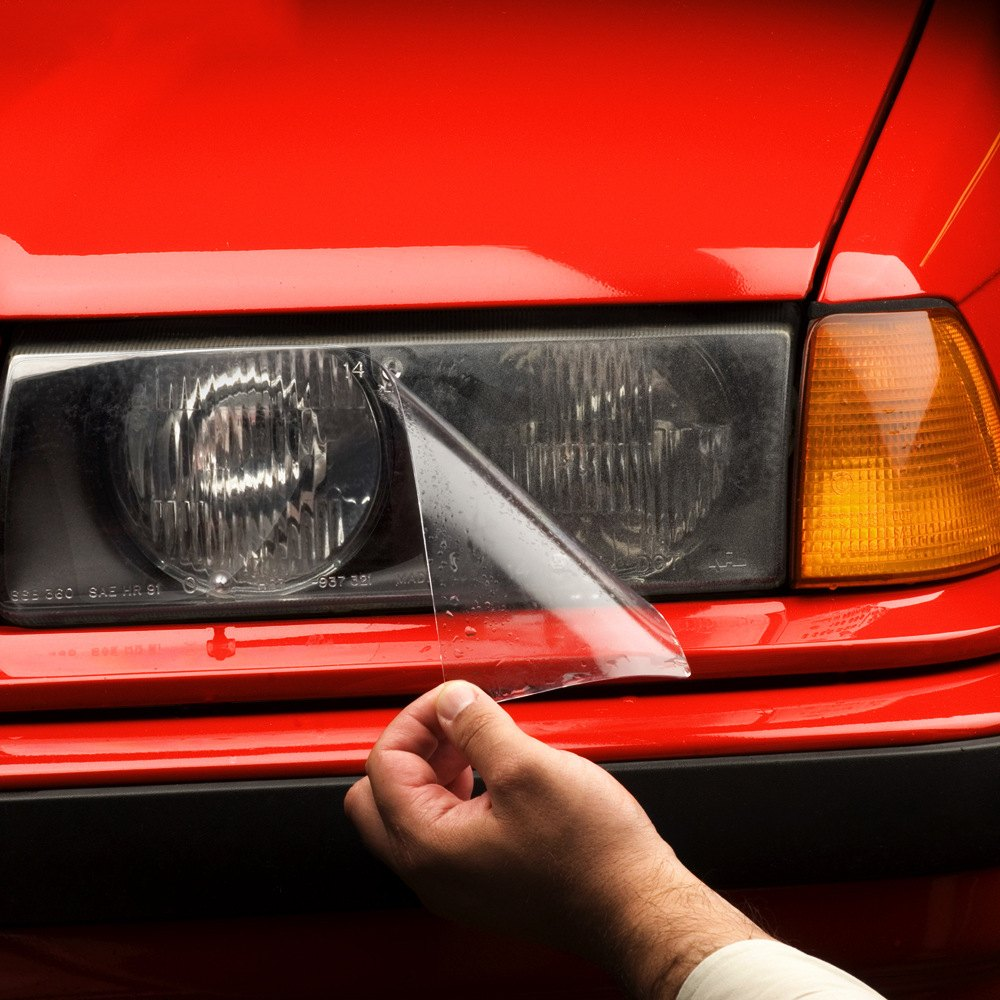Signal Lamp and Fog Lamp Protection Kit XPEL H0125 Clear Headlamp